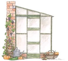 Greenhouse Watercolour