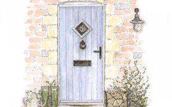 Large Door Watercolour