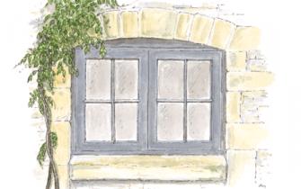 Window Watercolour Large