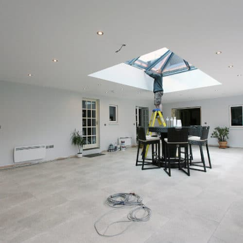 orangery-electical-work